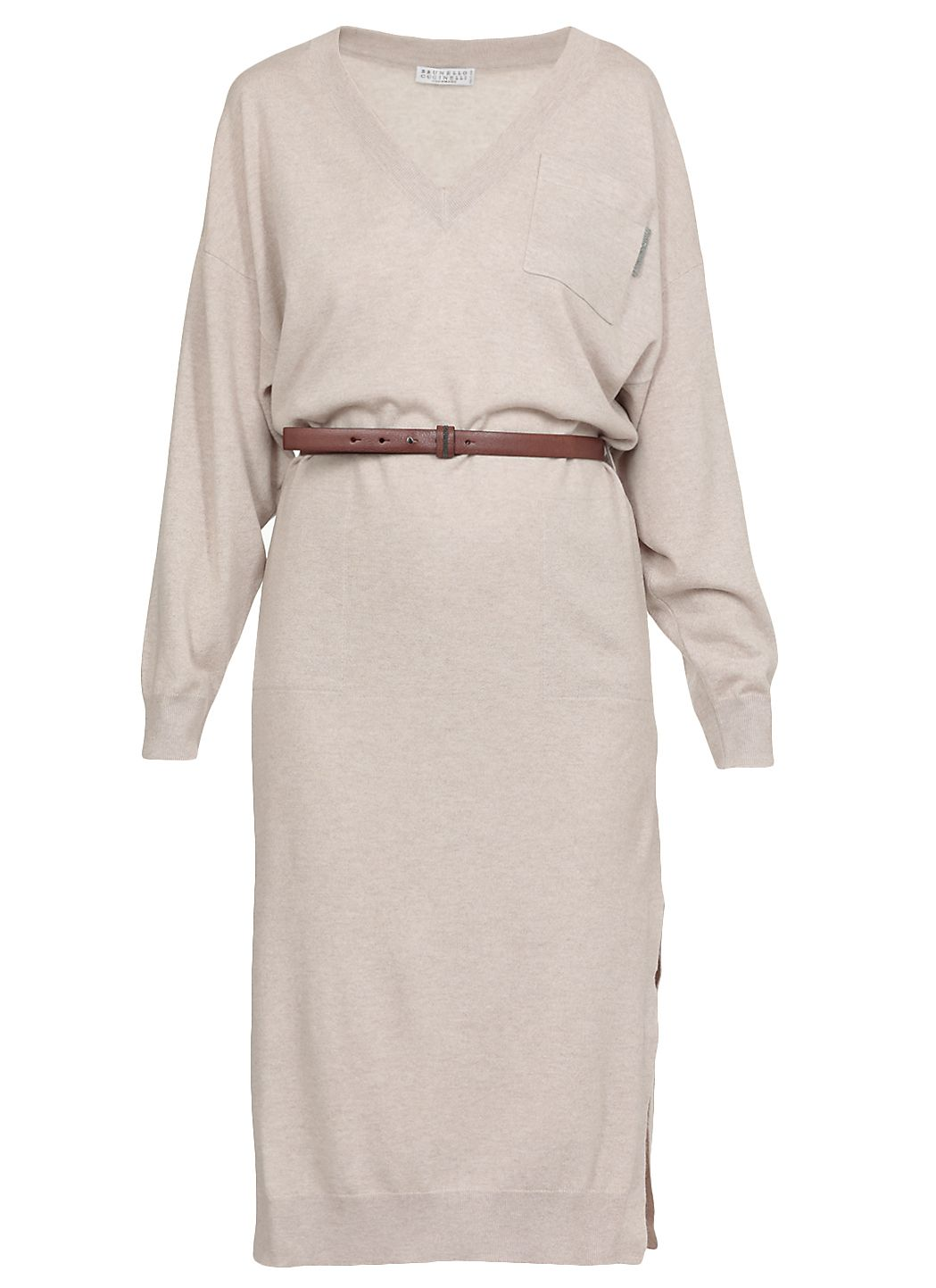 Cashmere knitted dress