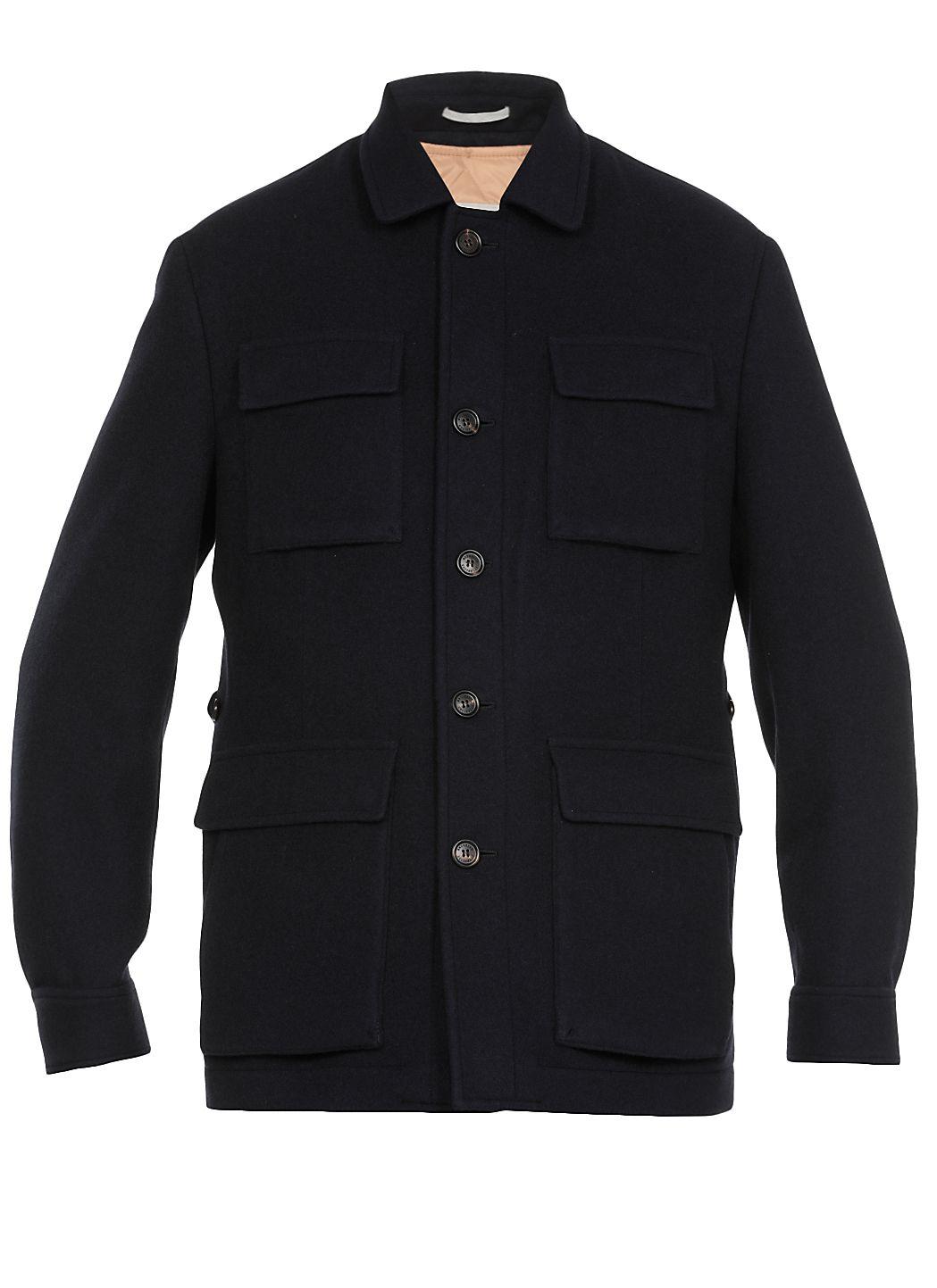 Giacca in lana e cashmere