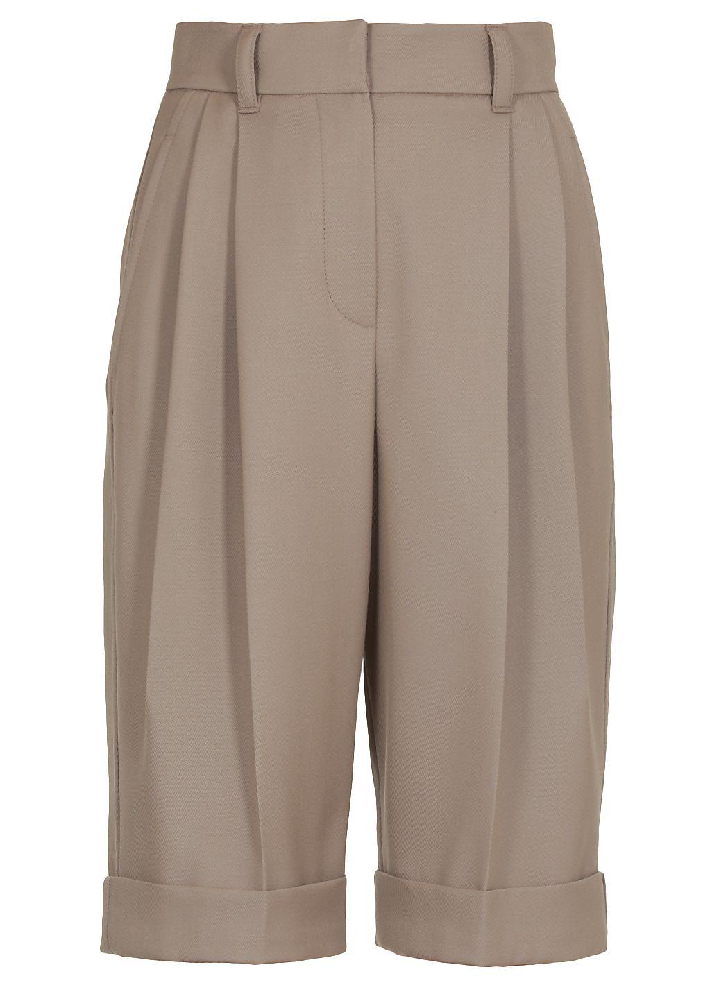 Baggy Bermuda shorts