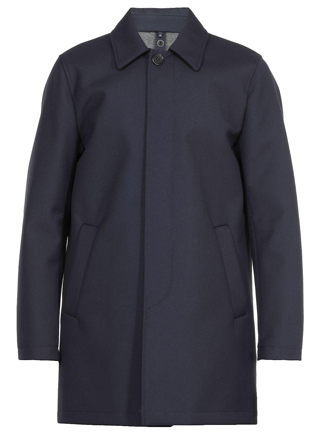 Cappotto in lana e viscosa