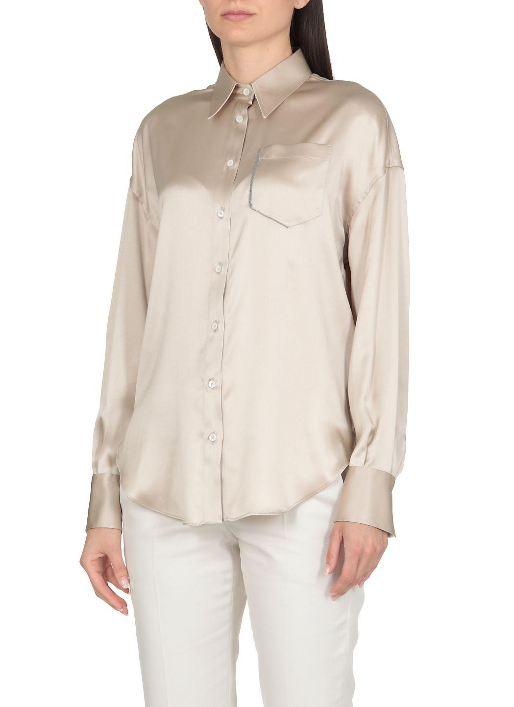 Camicia con 'Shiny Shadow Pocket'