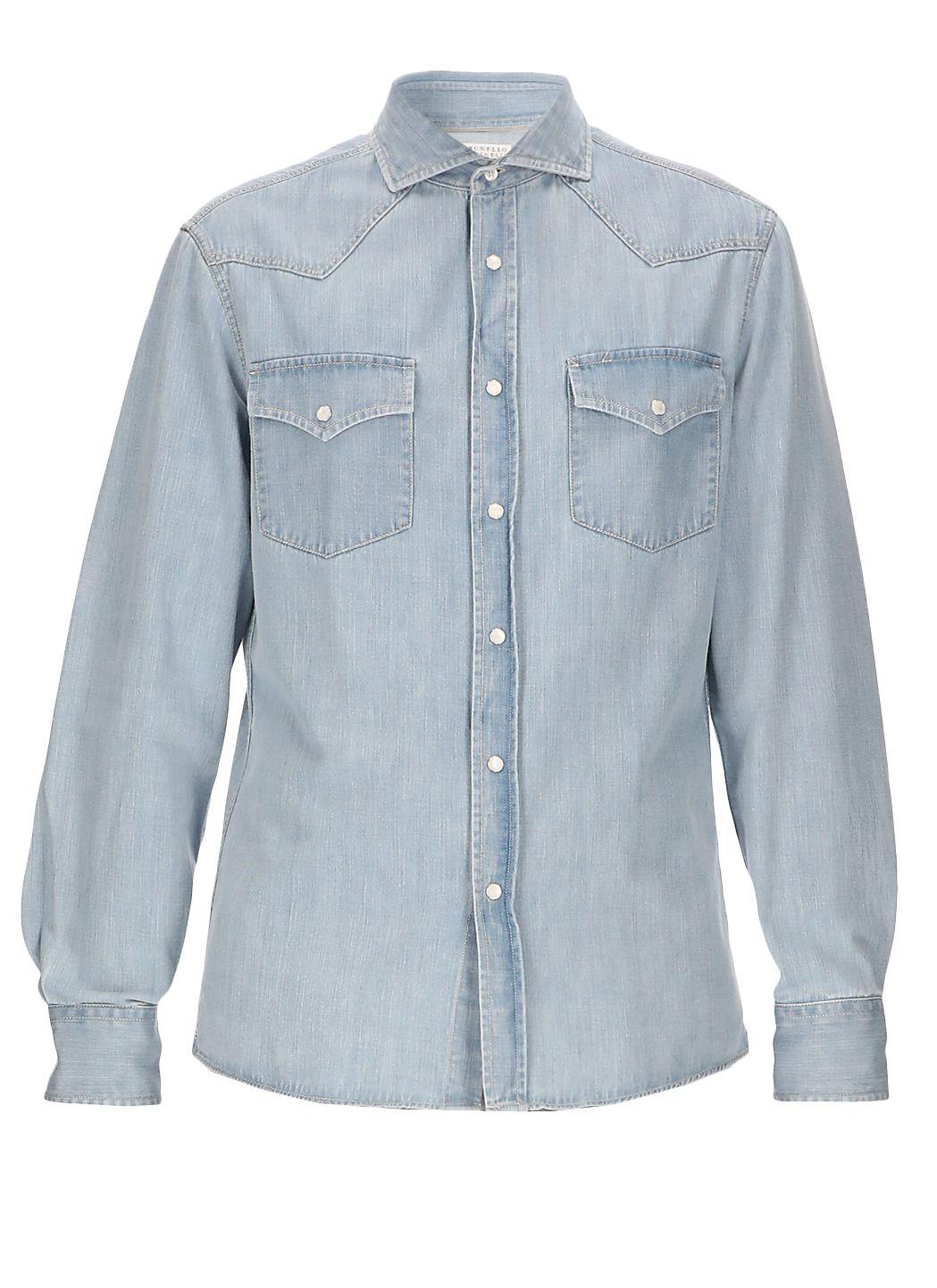 Camicia in jeans di cotone