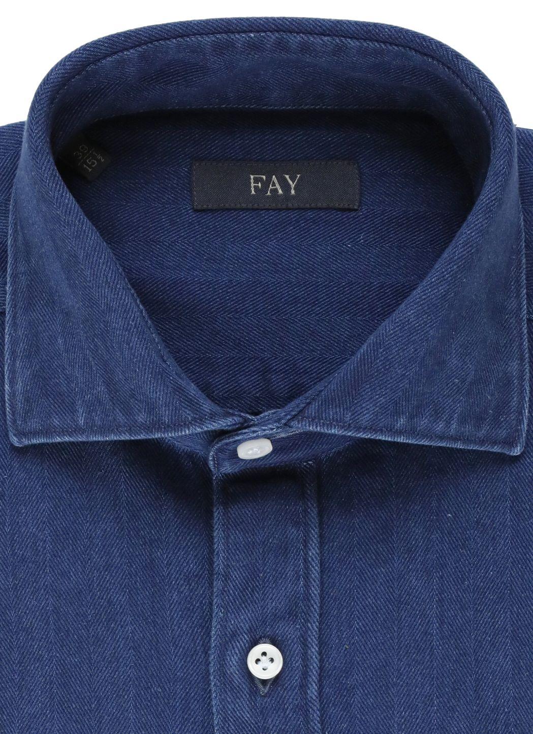 Camicia in cotone spiegato