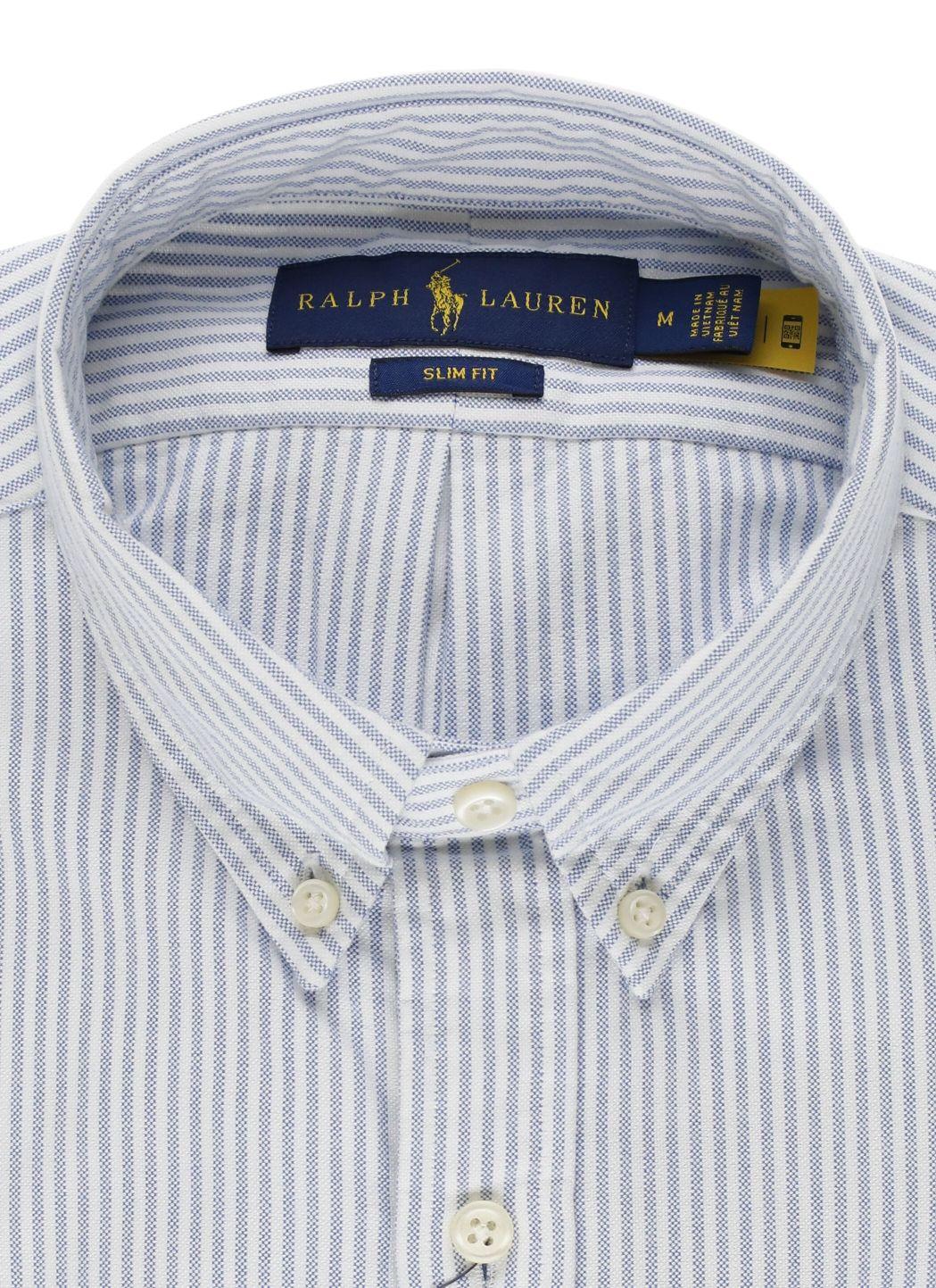 Camicia Oxford a righe Custom-Fit