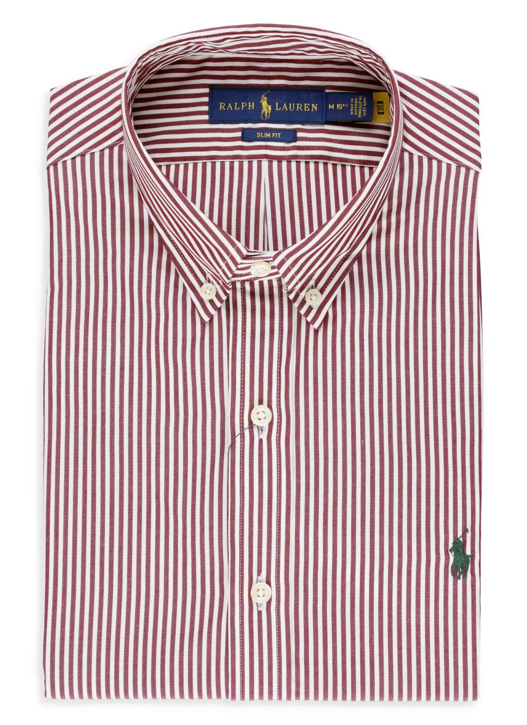 Camicia a righe Custom-Fit