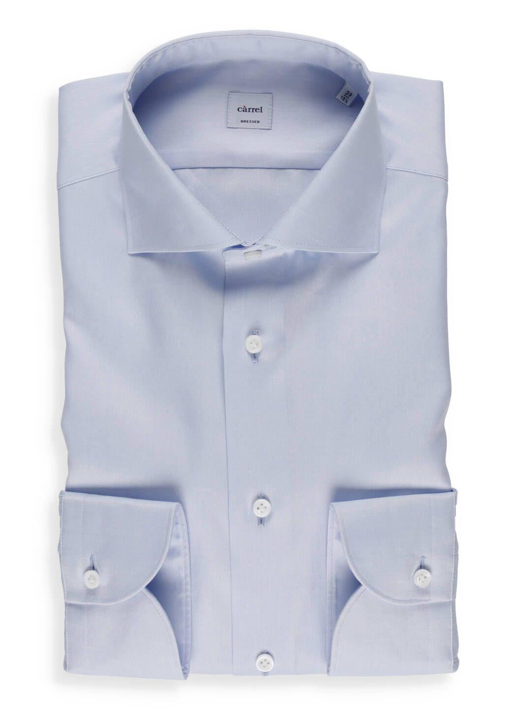 Camicia in twill di cotone