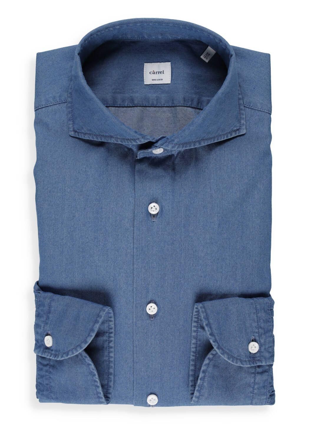 Cotton jeans shirt