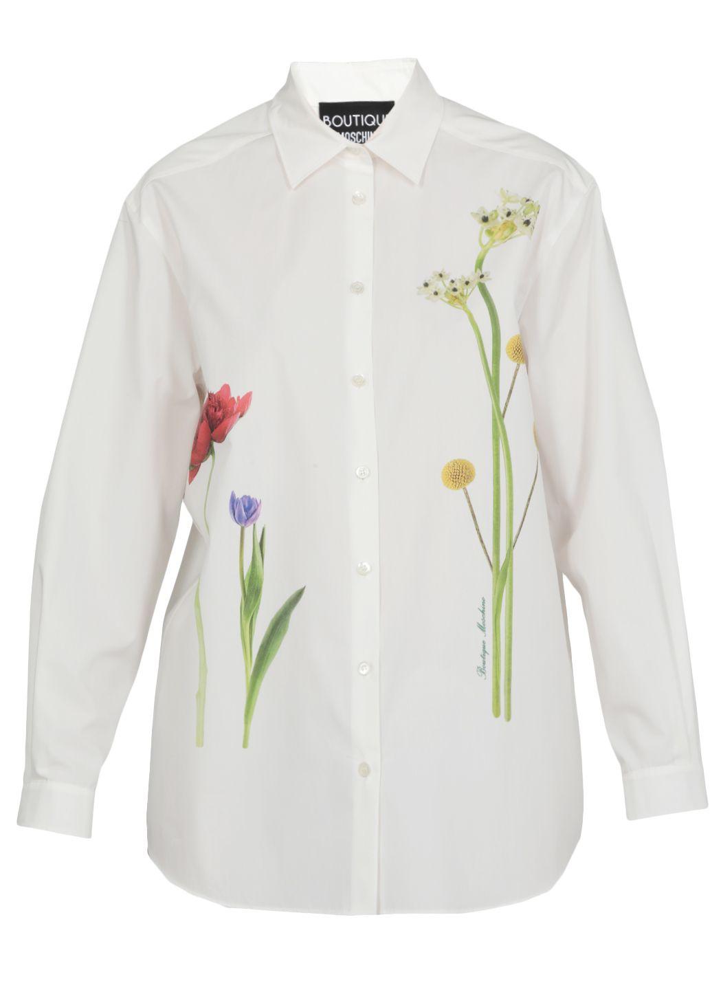 Camicia in popeliene di cotone