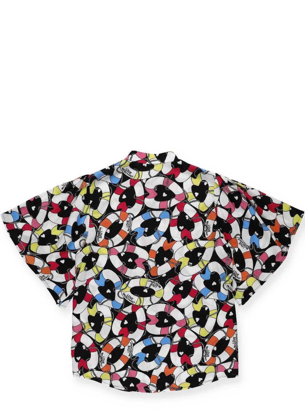 Camicia in viscosa Lifesaver Heart
