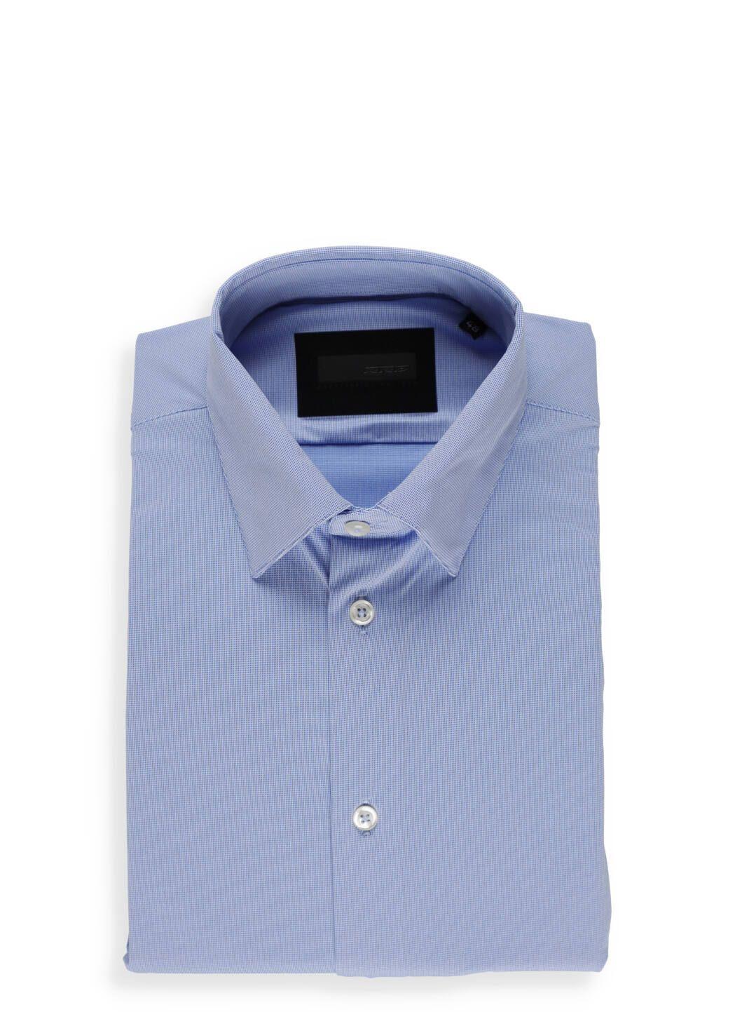 Camicia Oxford Jacquard