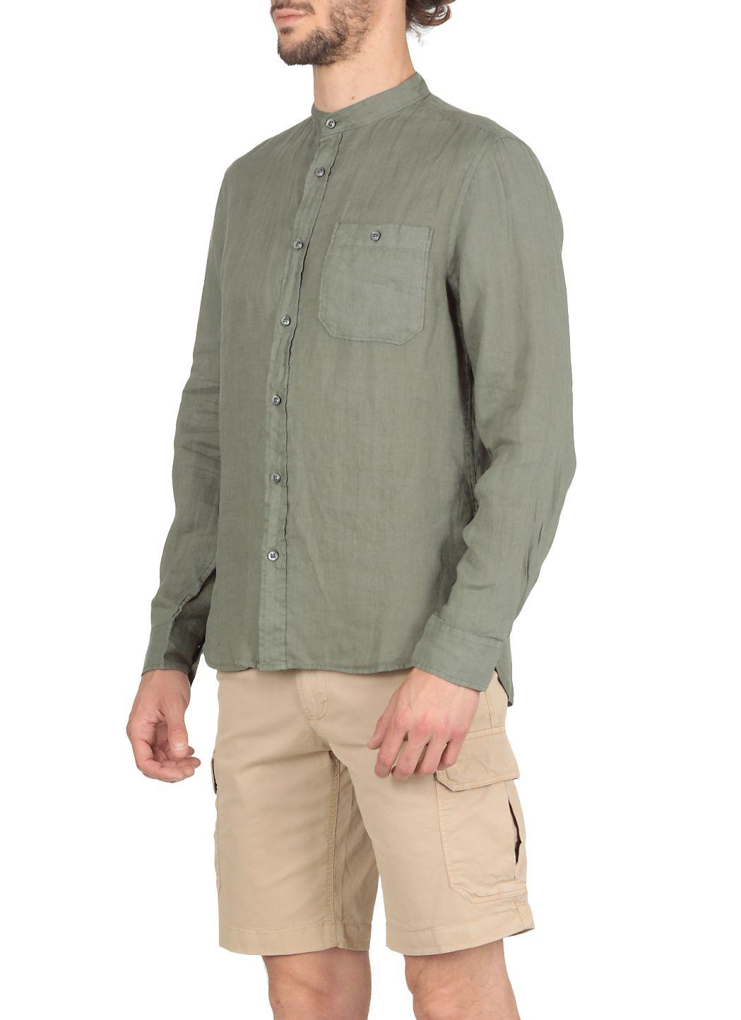Camicia Linen band