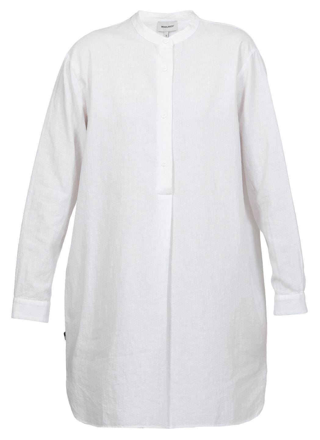 Linen and cotton oversize shirt