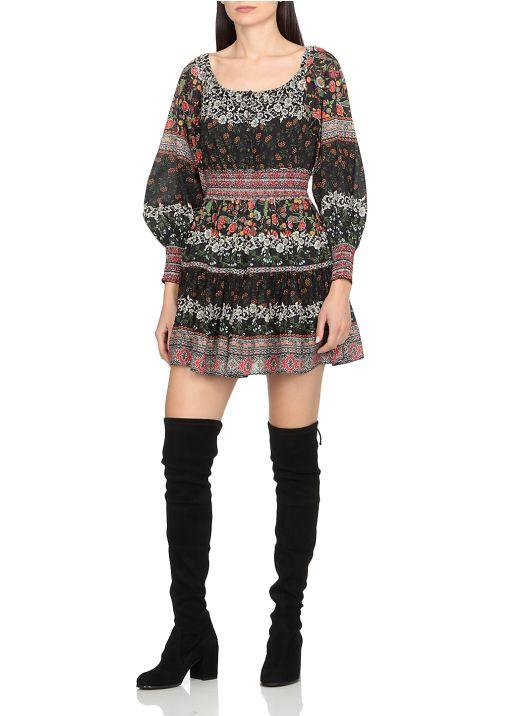 Clementina Tiered Mini Dress