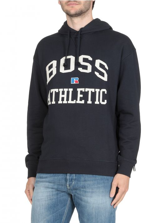 Boss x Russell Athletic Cotton Hoodie