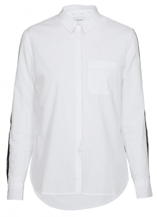 Shirt with loged band