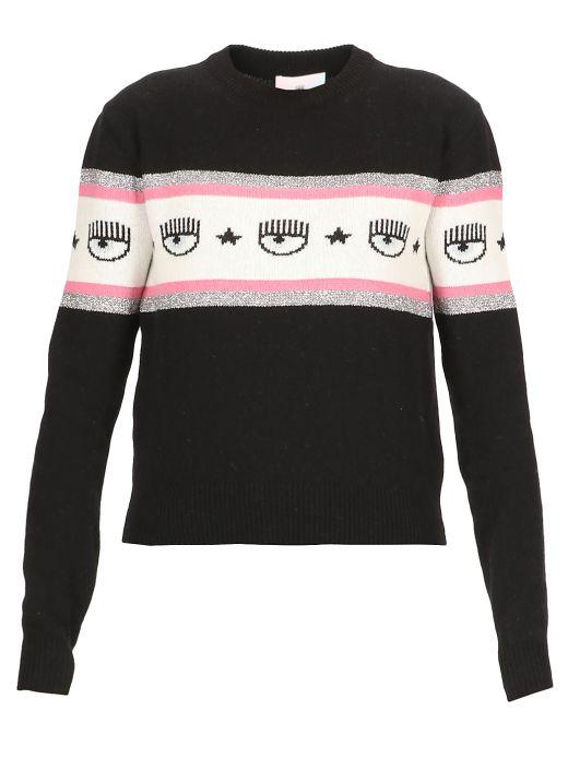 Logomania sweater
