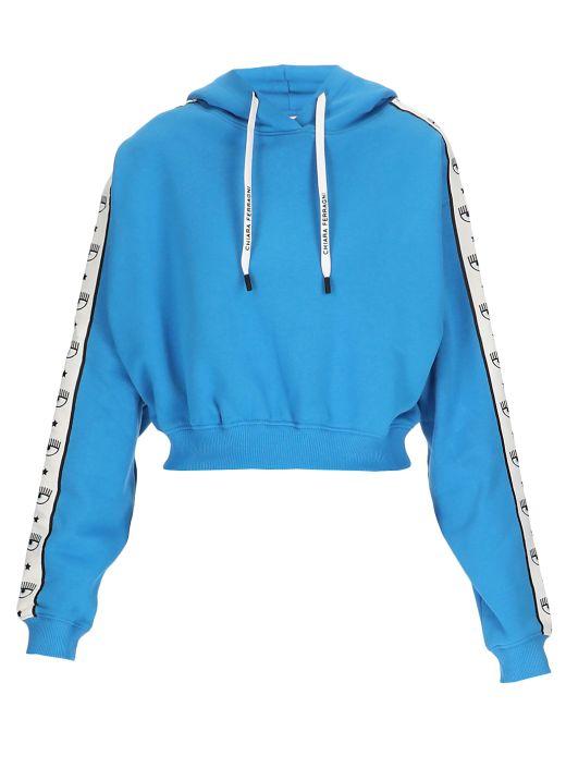 Cropped hoodie Logomania