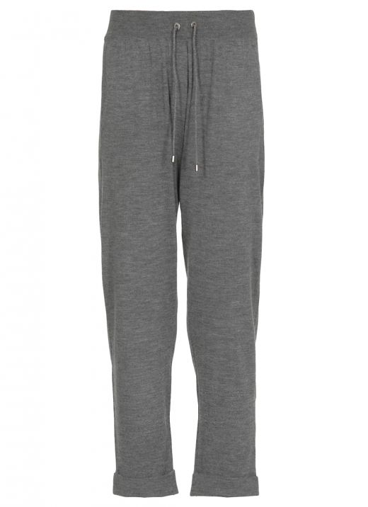 Wool and cashmere pant