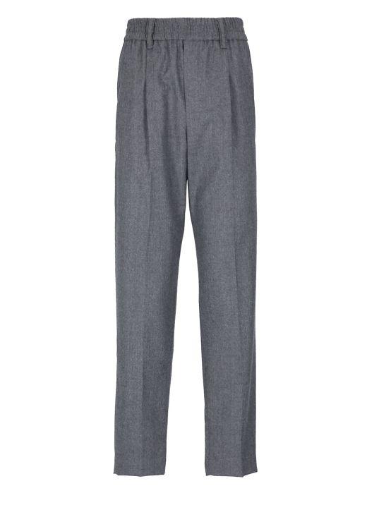 Virgin wool pants