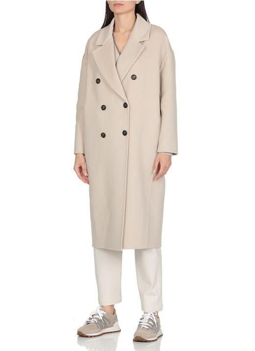 Long cashmere coat