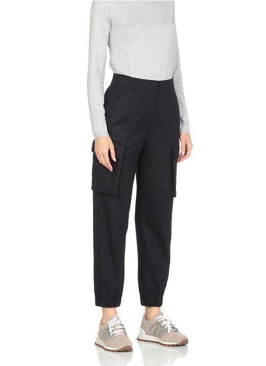 Cashmere soft pants