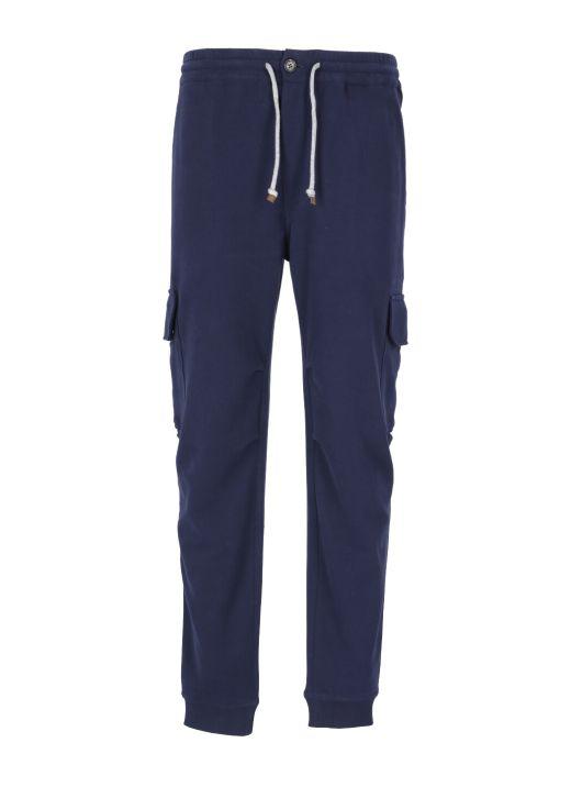 Plush cotton pants