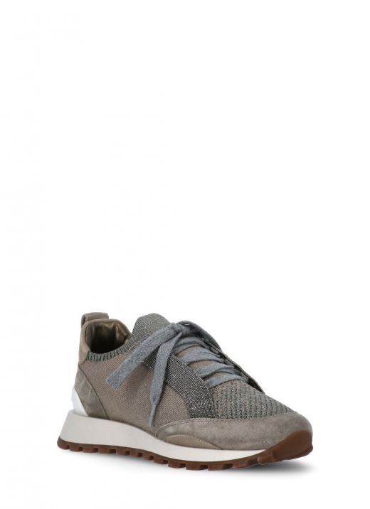 Sparkling cotton knit runners