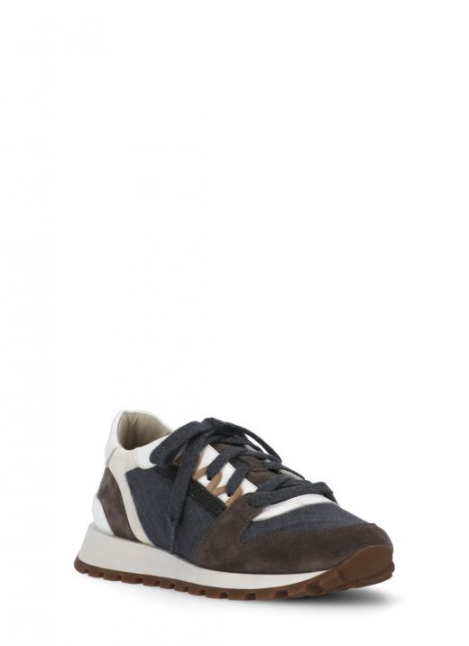 Texture leather runners