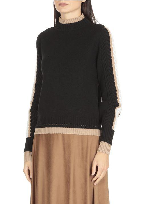 Maglia in cashmere seta e lana