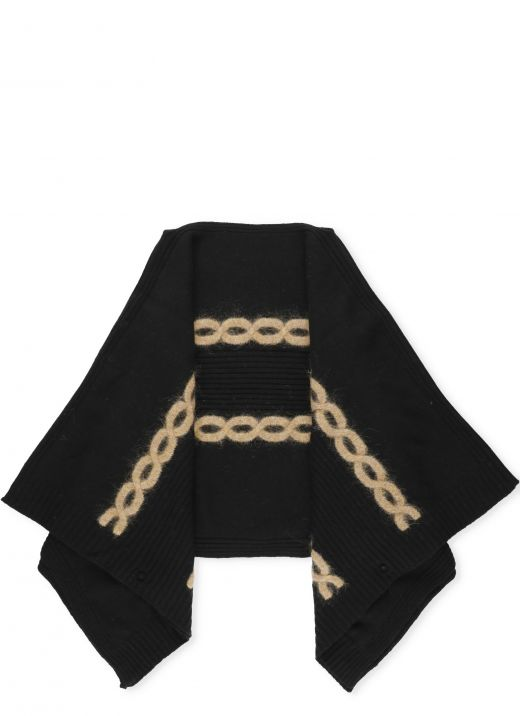Poncho in lana