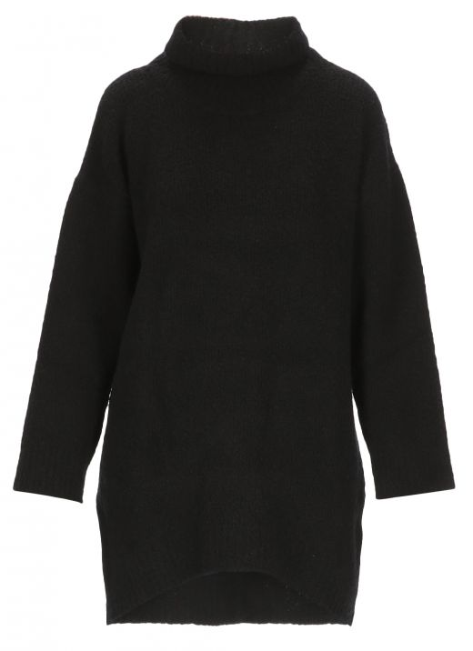Wool and cashmere blend over sweater