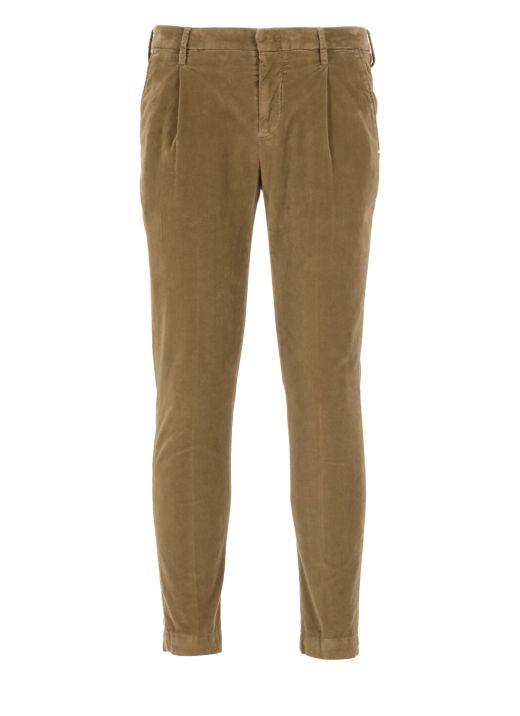 Pantalone in velluto America