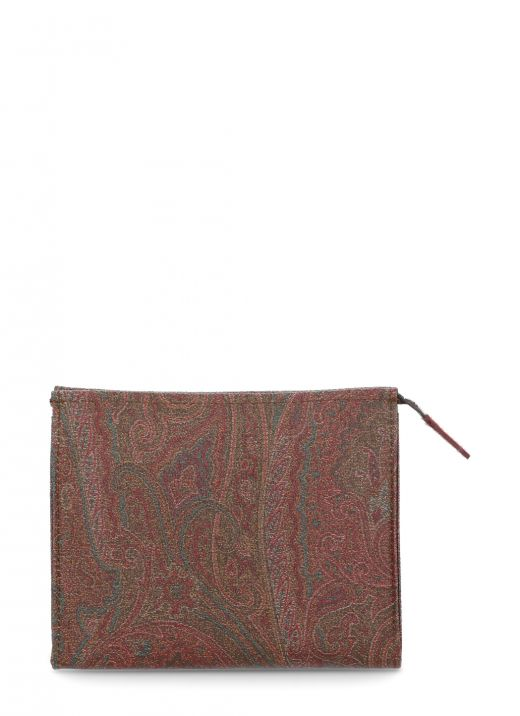 Beauty case with Paisley print