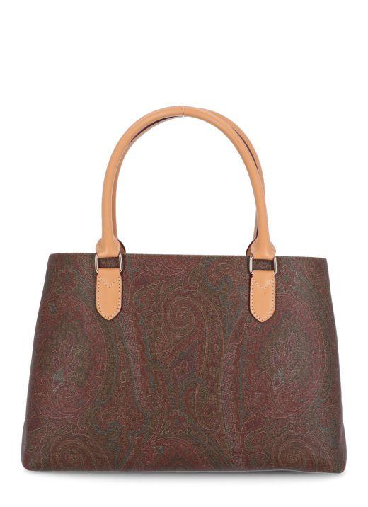 Paisley printed bag