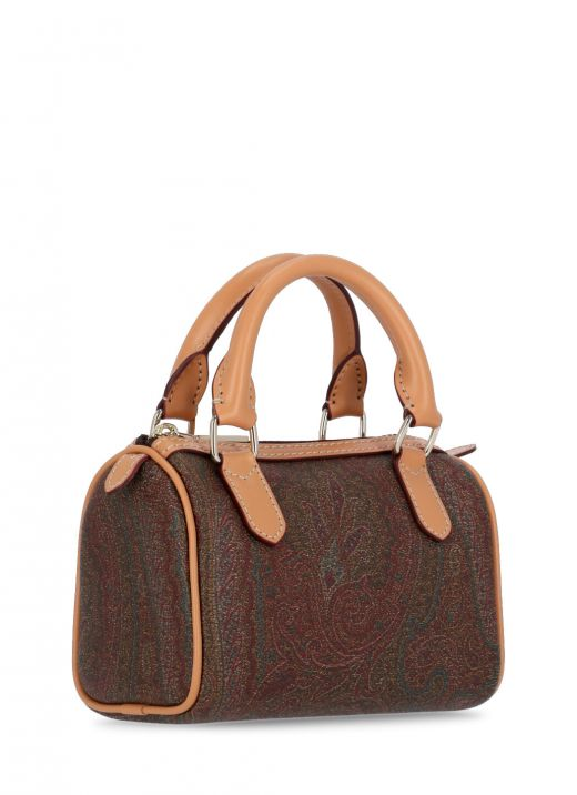 Paisley mini barrel bag
