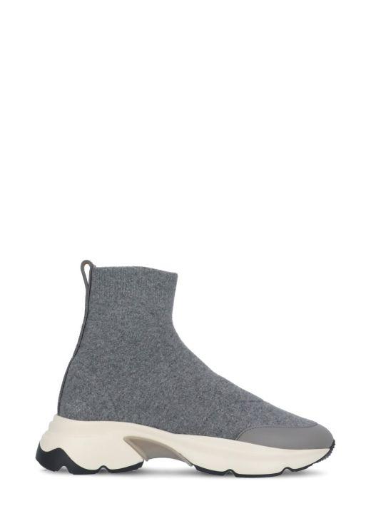 Wool knitted sneaker