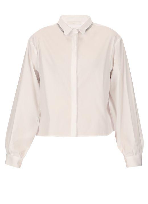 Shirt with light source