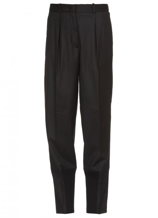 Merino wool trousers