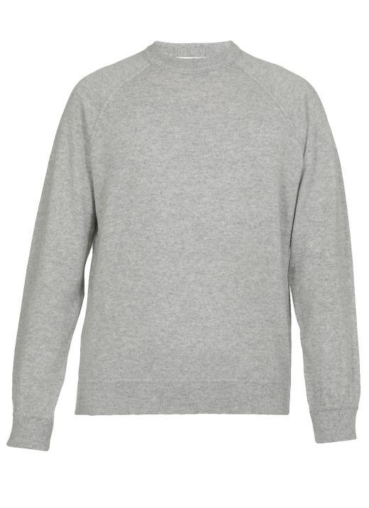 Maglia in lana merino e cashmere