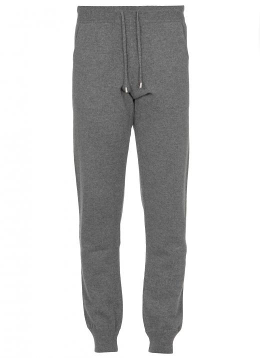 Merino wool and cashmere sweetpants