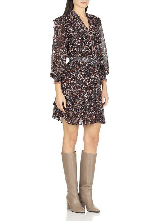 Floreal design dress