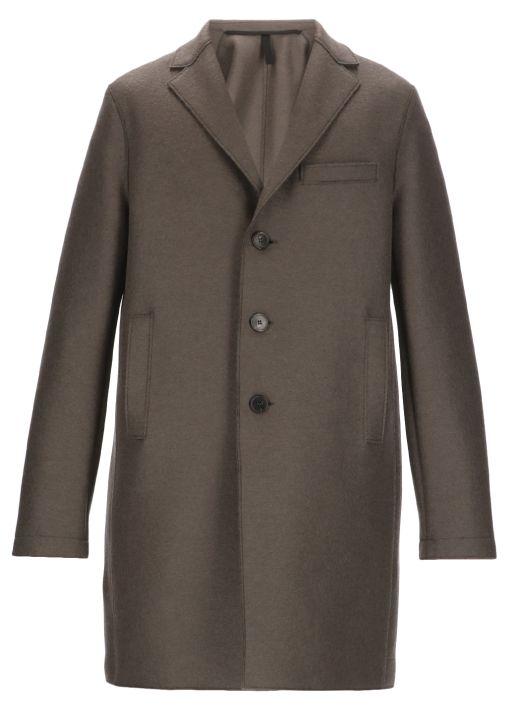 Mono breasted coat