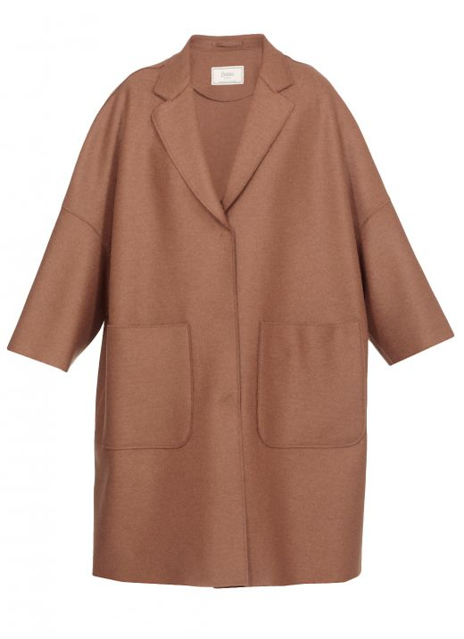 Virgin wool coat