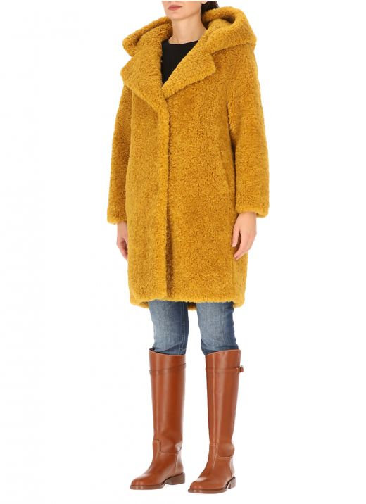 Cappotto in eco pelliccia