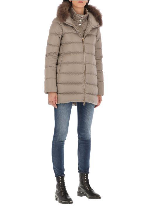 A-shape down jacket