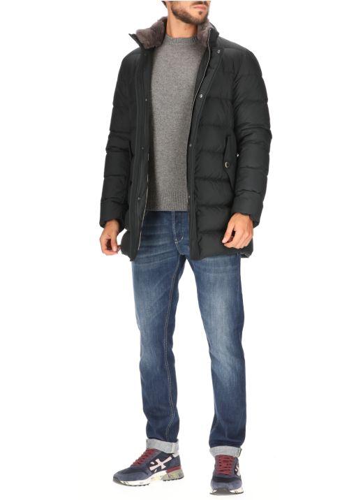 Milionaire coat with Resort fur