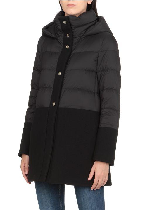 Midi lenght down jacket