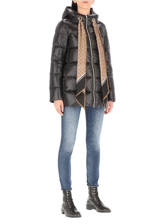 Ultralight nylon down jacket