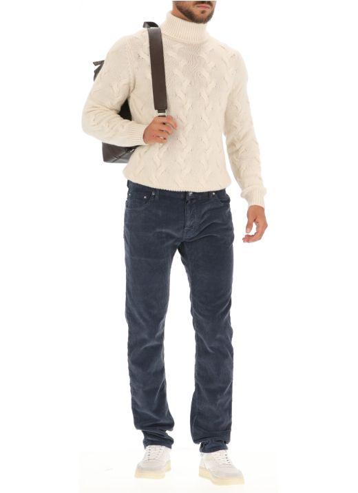 Velvet trouser