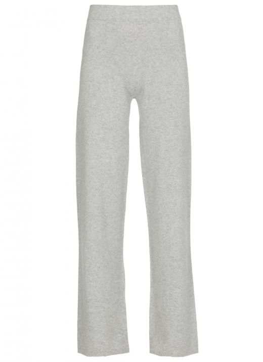 Wool cashmere and silk blend sweetpants